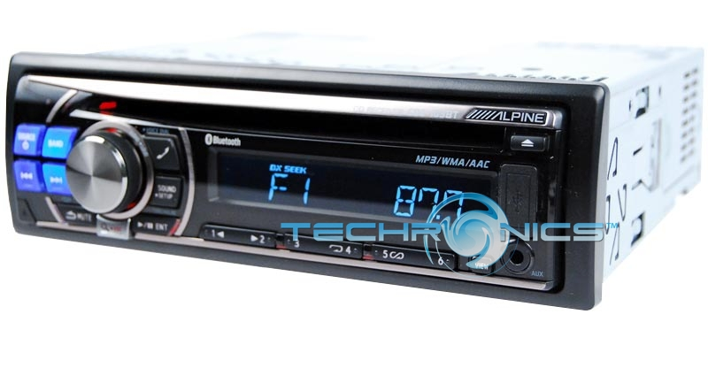 ALPINE CDE-103BT CAR CD MP3 BLUETOOTH STEREO USB PLAYER