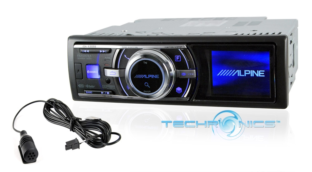 alpine ida x305sbt in dash car stereo ipod player reciever. Black Bedroom Furniture Sets. Home Design Ideas