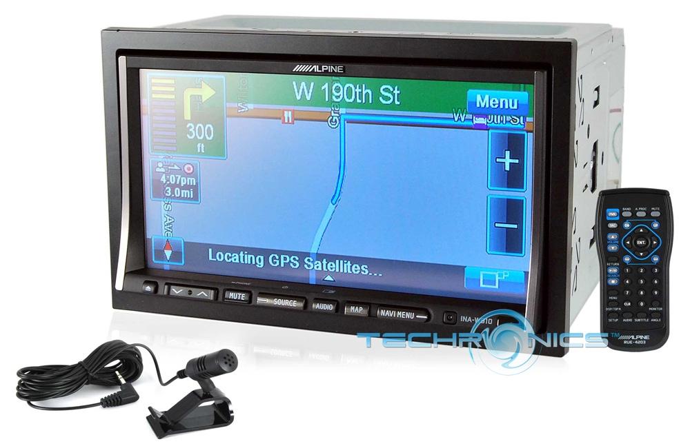 Alpine in dash touch screen
