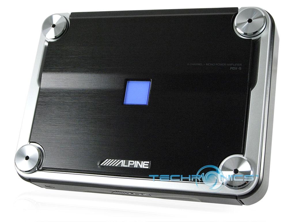 Alpine PDX-5-channel car amplifier watts RMS x 3watts