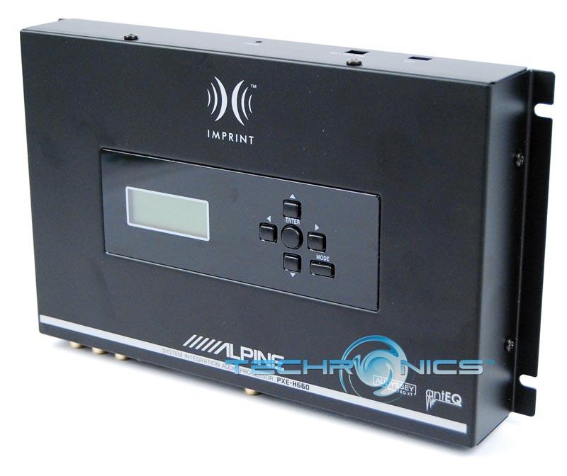 ALPINE IMPRINT PXE-H660 SYSTEM INTEGRATION PROCESSOR