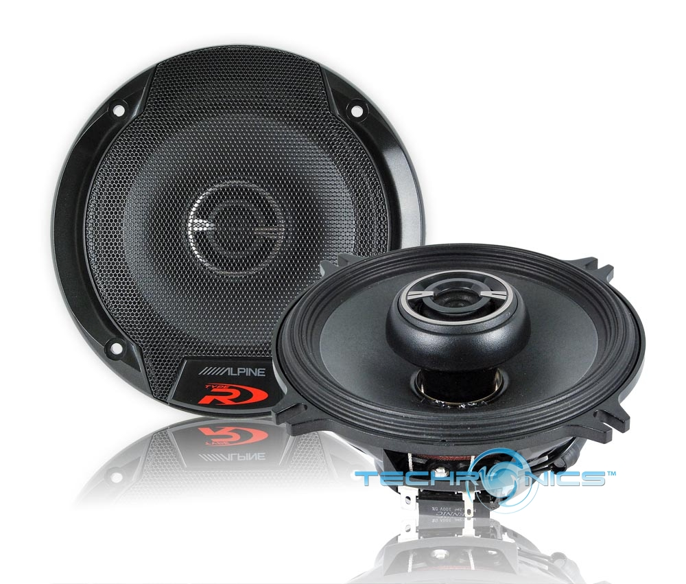 """alpine cde 9846 wiring diagram alpine spr-50 car audio 5.25"""" coaxial 2-way speakers 270w ... alpine spr 50 wiring diagram speakers"""