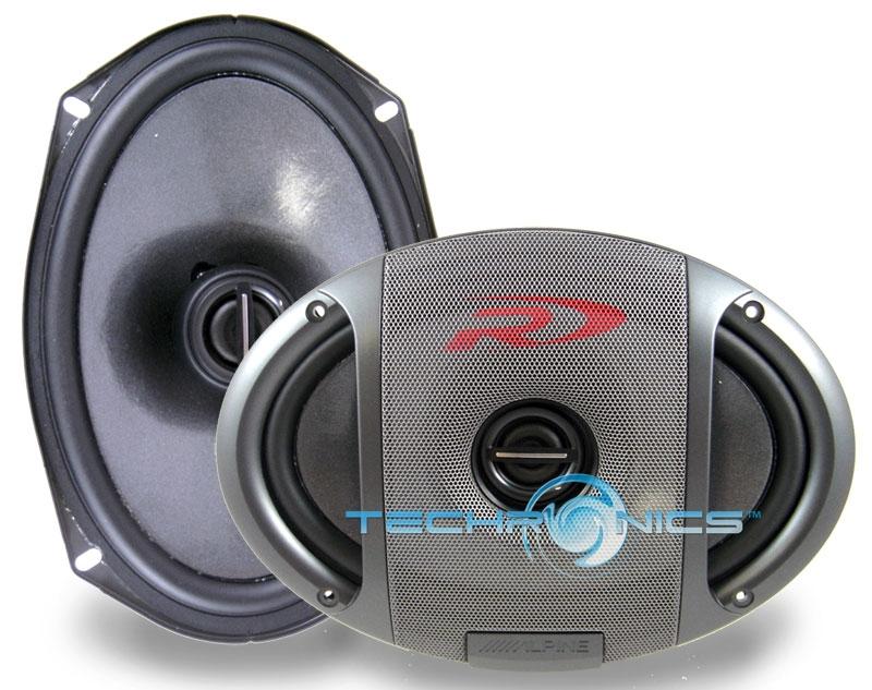 NEW ALPINE SPR-69C 6X9 CAR STEREO AUDIO TYPE-R SPEAKERS