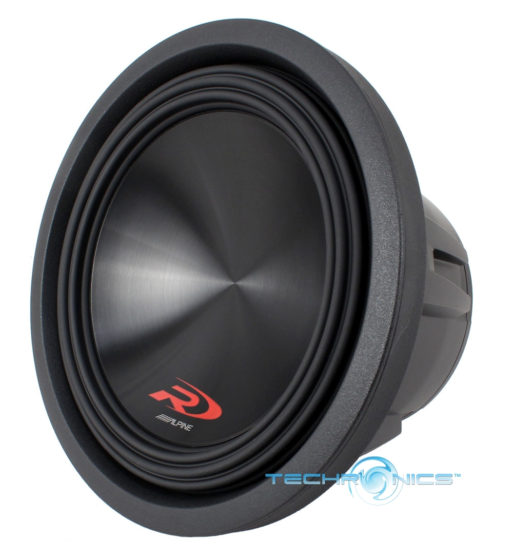 Alpine SWR-10DType-R Subwoofer with Dual 4