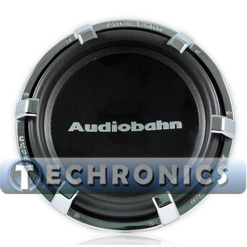 Audiobahn Aw1200j 12 Quot Dual 4 Ohm High Excursion Series