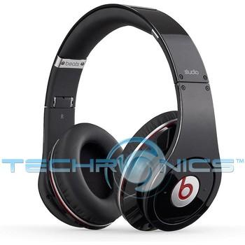 beats by dr dre studio over ear noise canceling headphones black. Black Bedroom Furniture Sets. Home Design Ideas