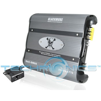 Blackmore BAC-DM60 Monoblock Car Stereo Amplifier