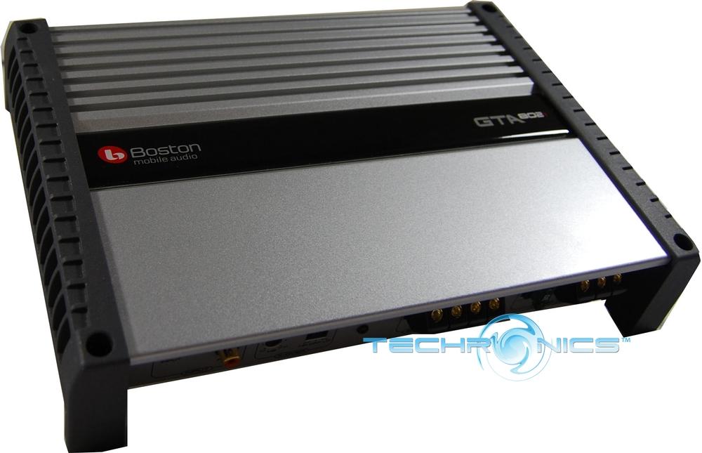 BOSTON GTA802 2 CH CAR AUDIO AMP STEREO GTA AMPLIFIER