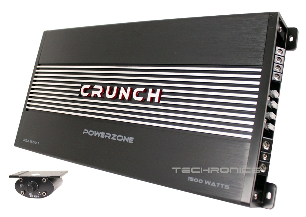 Crunch Pza1500 1 Power Zone 1500w Monoblock Class Ab 1