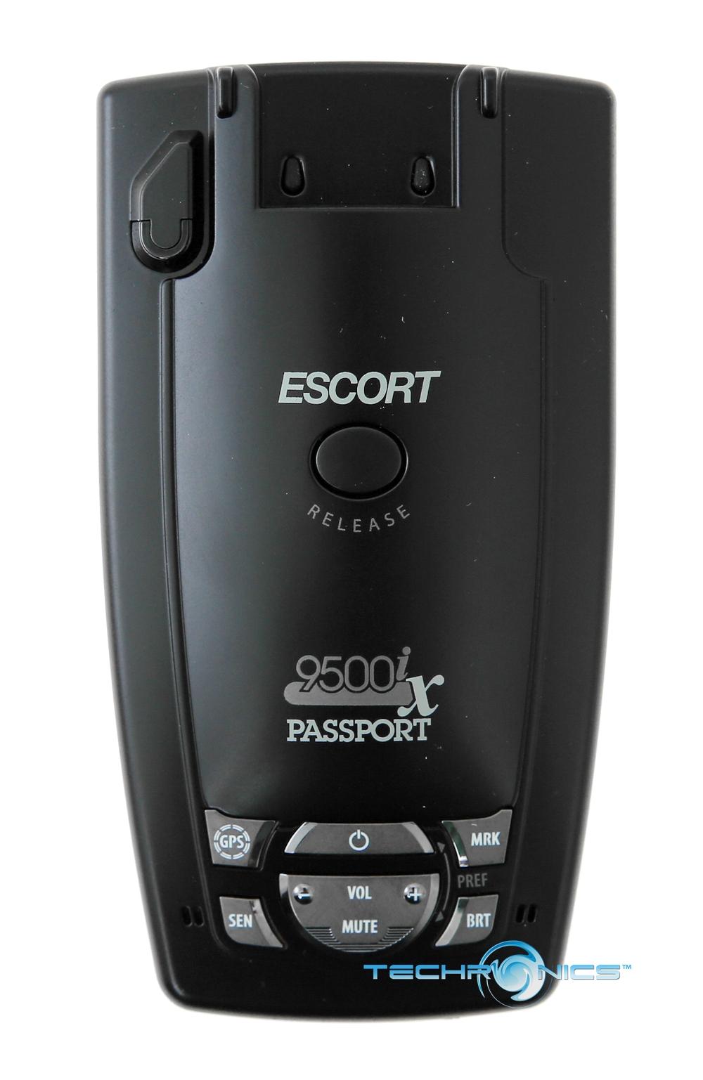 Passport Radar Detector >> ESCORT PASSPORT 9500IX RED CAR RADAR LASER DETECTOR AUTO LEARN INTELLIGENCE GPS