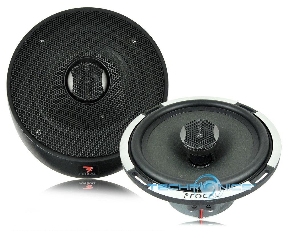 focal pc 165 6 1 2 6 3 4 2 way 160w max full range car audio panel speakers. Black Bedroom Furniture Sets. Home Design Ideas