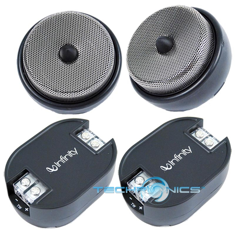 9T 1 300W MAX COMPONENT CAR AUDIO DOOR PANEL TWEETER SPEAKERS