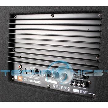 jbl gt basspro12 12 loaded car audio powered subwoofer system. Black Bedroom Furniture Sets. Home Design Ideas