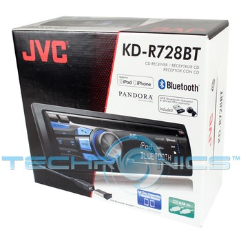 Jvc kd-r728bt manual