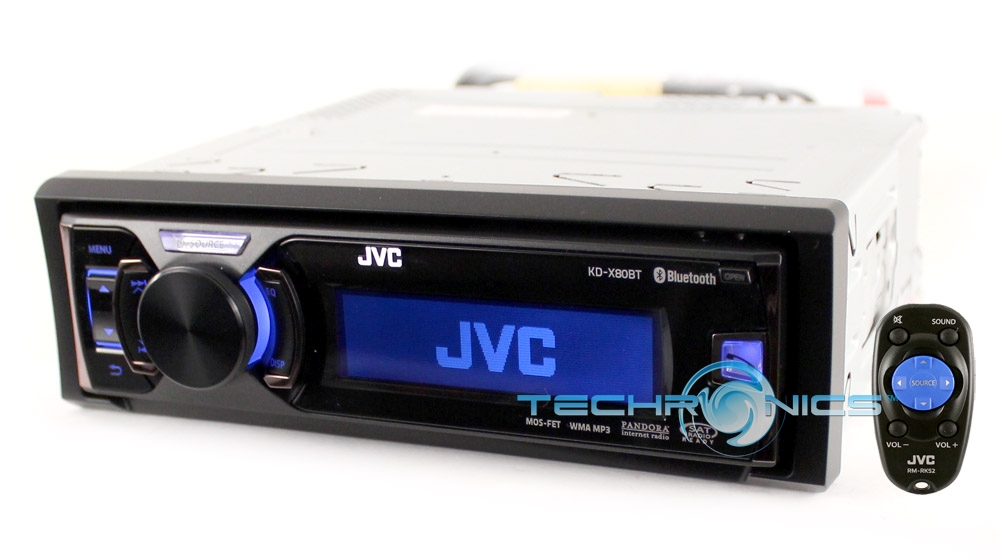 how to connect bluetooth to jvc car stereo