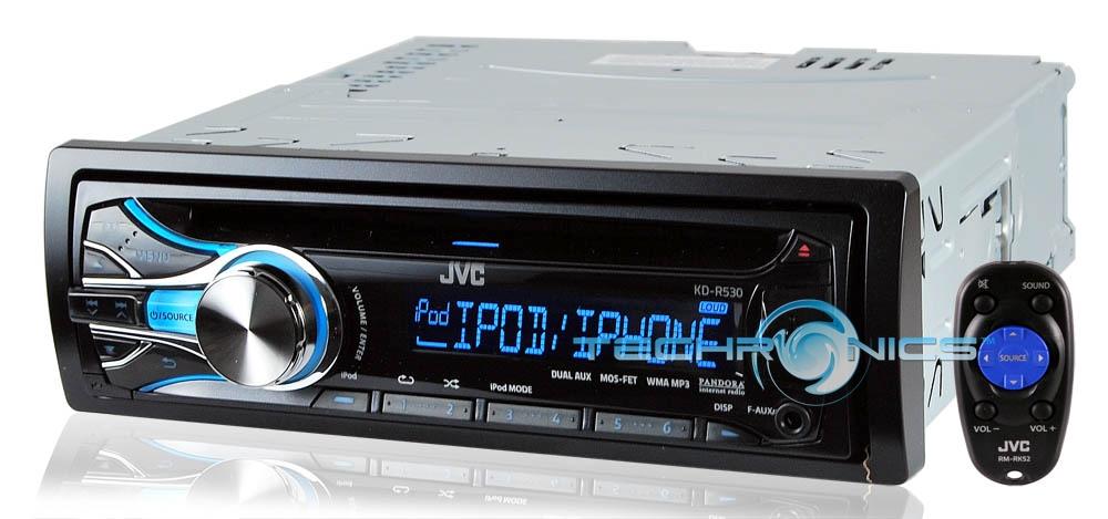 how to use pandora on jvc car stereo
