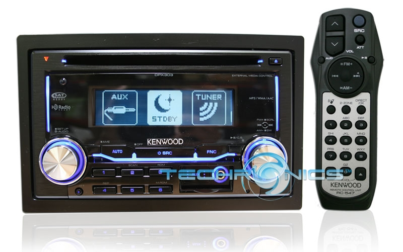 NEW KENWOOD DPX303 DOUBLE DIN CD/MP3 CAR STEREO PLAYER