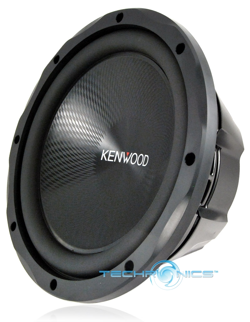"KENWOOD KFC-W3013PS 1200W MAX 12"" SINGE 4 OHM PERFORMANCE CAR AUDIO SUB WOOFER"