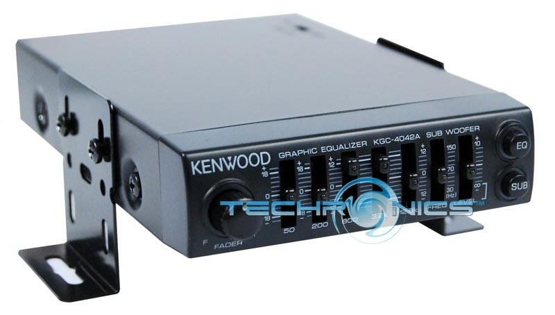 Kenwood 5 band equalizer