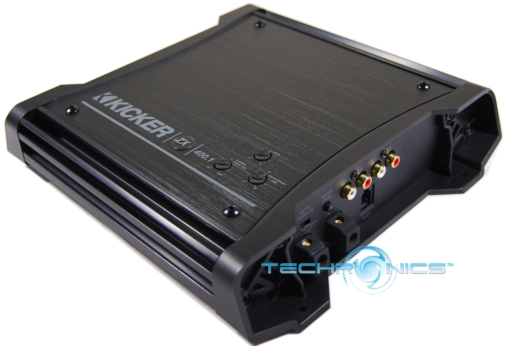 new kicker zx400 1 car audio amp mono zx 400 amplifier. Black Bedroom Furniture Sets. Home Design Ideas