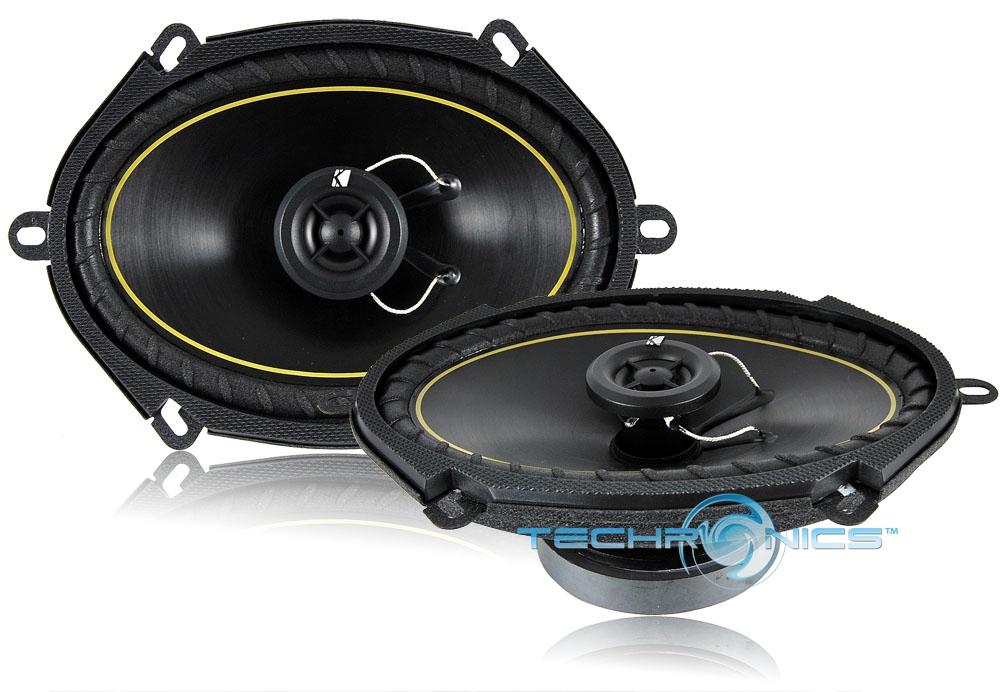 KICKER-11DS-68 +2 YR WARRANTY 140W 4 OHM POWER PERFORMANCE CAR AUDIO SPEAKERS