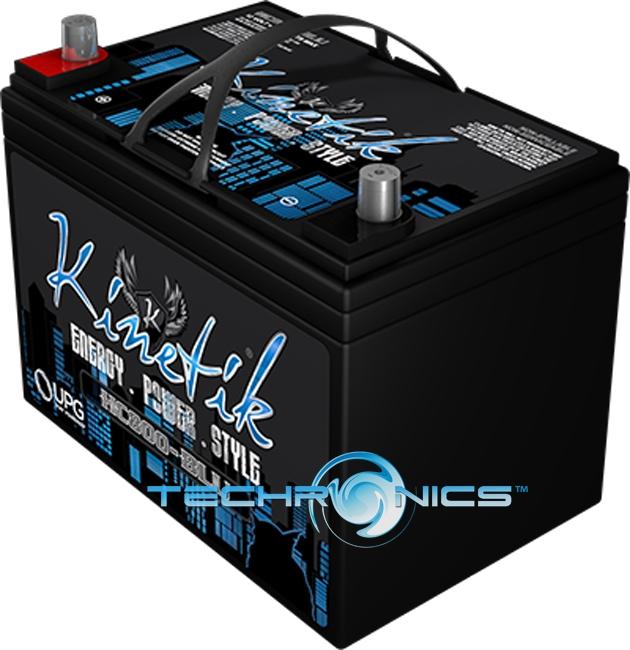 Kinetik Car Battery