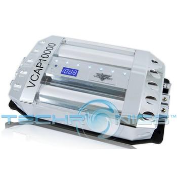 16 Volt Hybrid Double Capacitor Lanzar VCAP10000 Vector 100 Farad