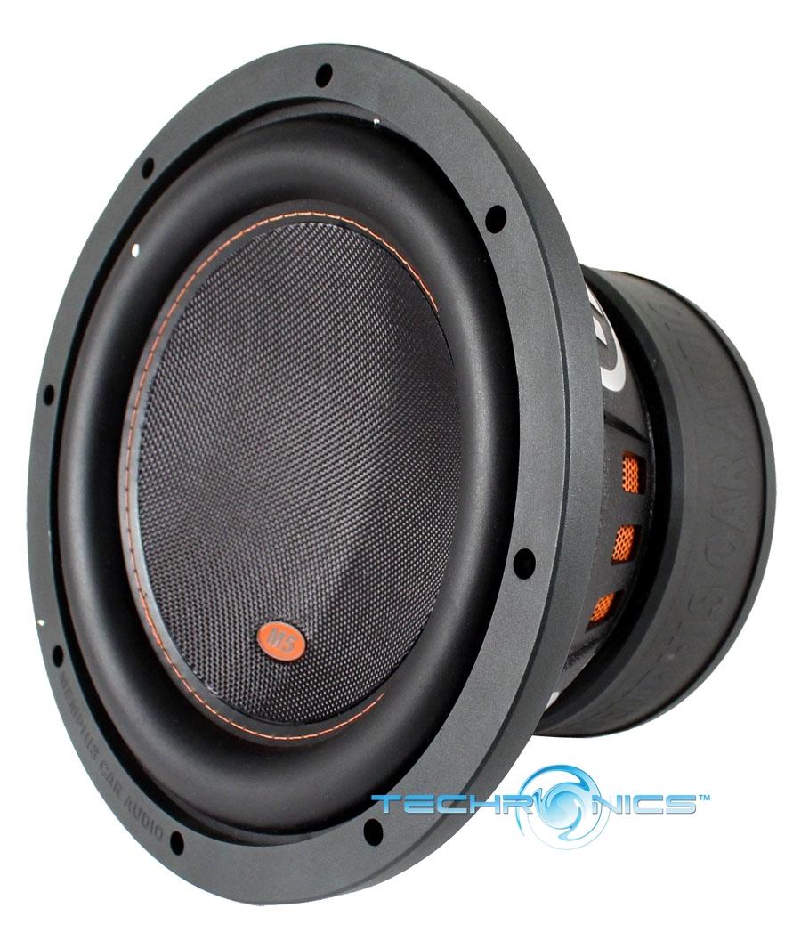 """Memphis Br15d4 15 Sub 800w Car Audio Dual 4 Ohm Subwoofer: MEMPHIS 15-M510D4 10"""" 800W M5 SERIES SUB DUAL 4 OHM CAR"""