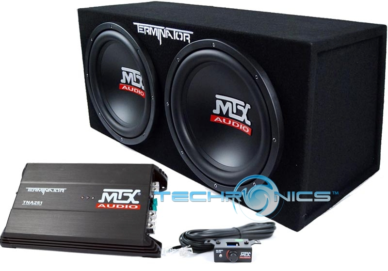 PAIR MTX AUDIO 12
