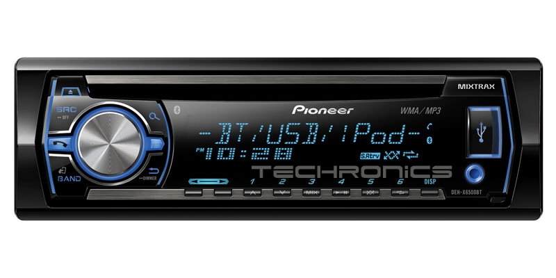pioneer deh x65bt cd mp3 usb wma player car stereo radio receiver in dash ebay