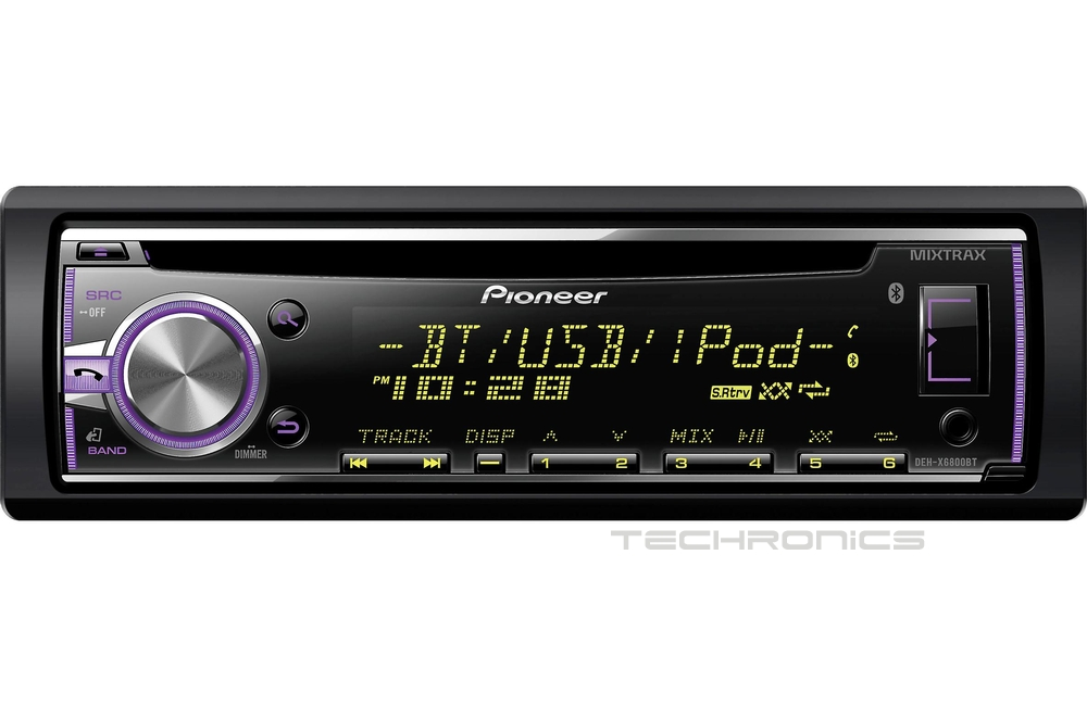 pioneer bluetooth cd mp3 player usb pandora car stereo deh. Black Bedroom Furniture Sets. Home Design Ideas