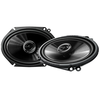 "PIONEER TS-G6845R 250W 6 X 8"" 2-WAY G-SERIES COAXIAL CAR SPEAKERS"
