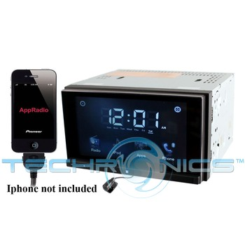 "Buy Pioneer Digital Media Receivers - Pioneer SPH-DA02 6.1"" Digital Multimedia Receiver for iPhone and iPod"