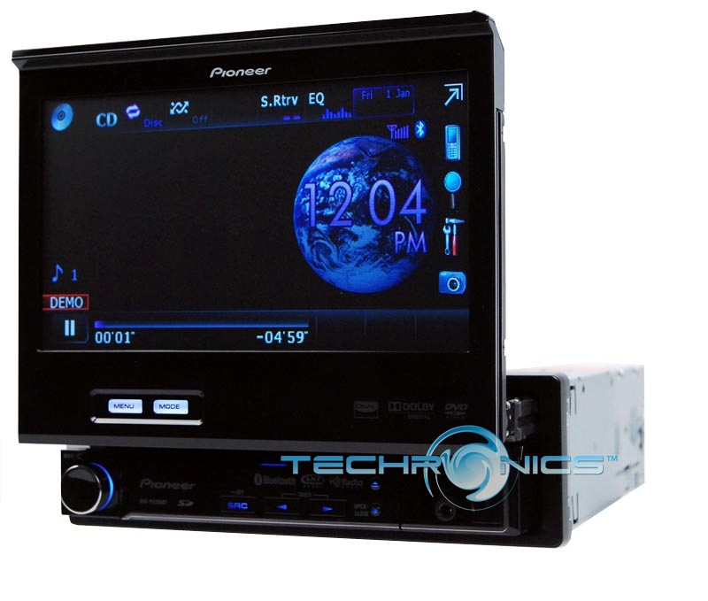 Monitor for car dvd player