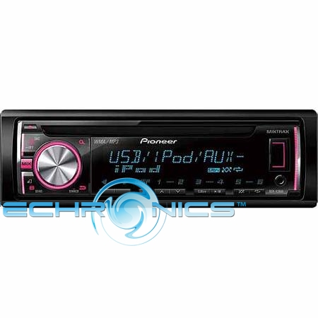 PIONEER DEH-X36UI CD PLAYER CAR STEREO WITH PANDORA ANDROID IPOD COMPATIBILE