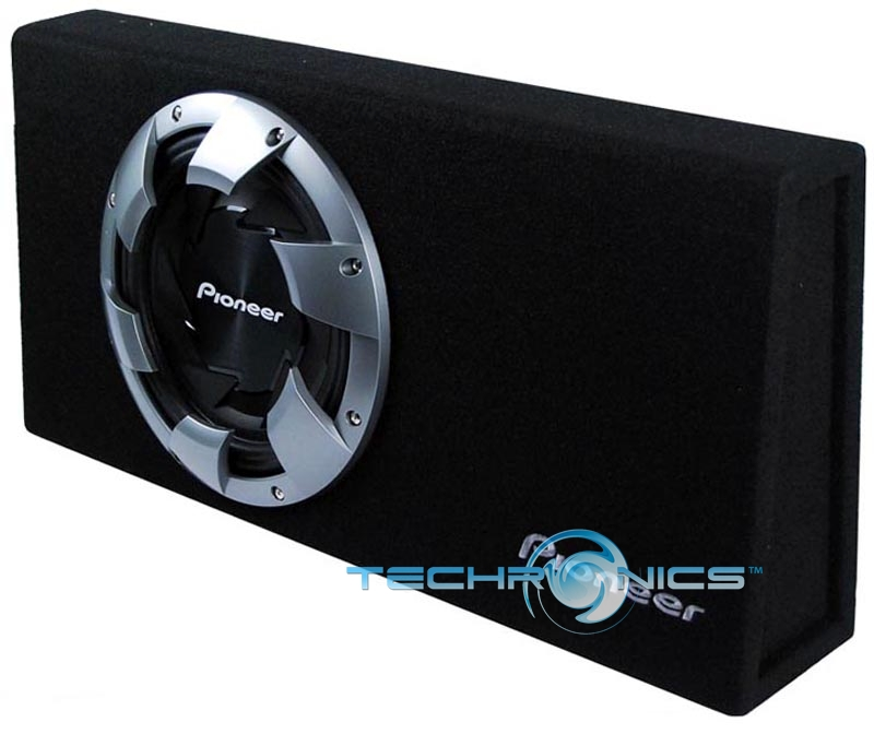 "PIONEER 12"" SHALLOW MOUNT TRUCK SUBWOOFER BOX ENCLOSURE"