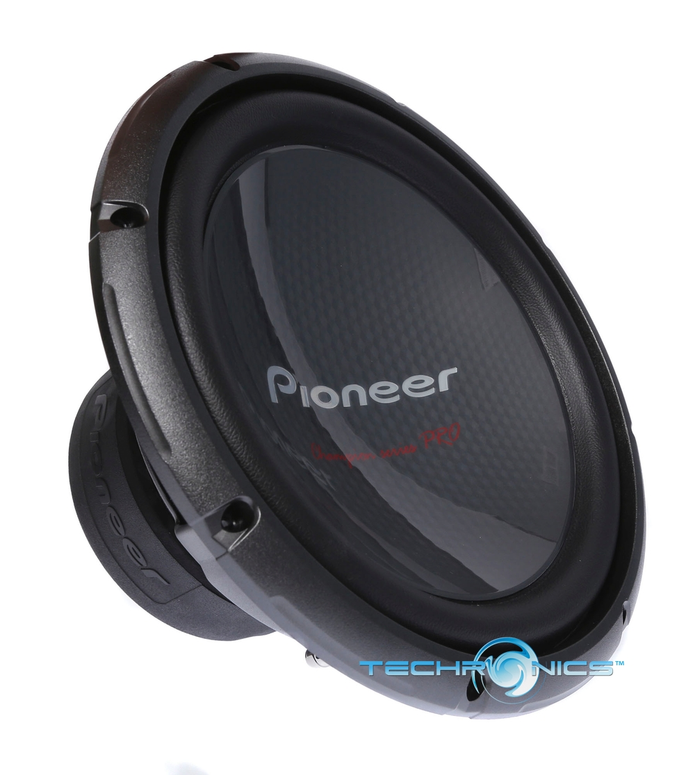 pioneer ts w3003d4 2yr warant 600w 12 champion pro car. Black Bedroom Furniture Sets. Home Design Ideas