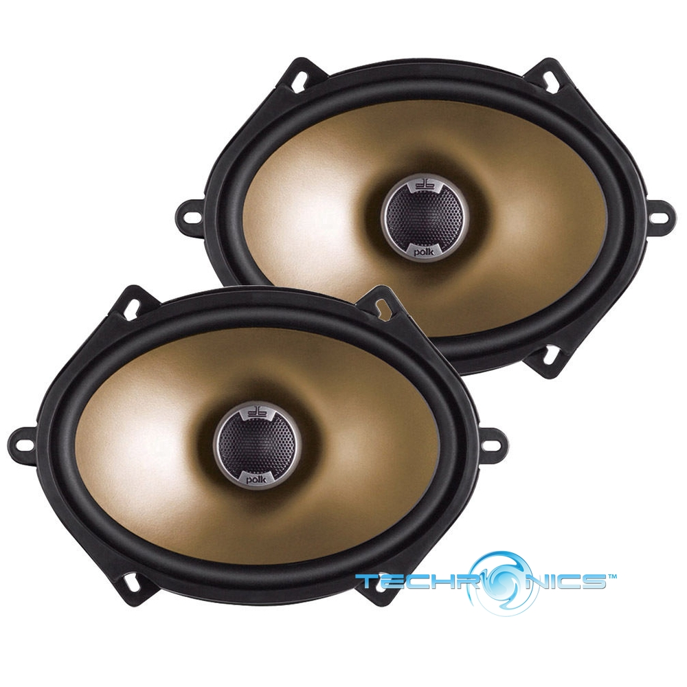 "POLK AUDIO DB571 5""X7"" 360W MAX 2 WAY COAXIAL MARINE ..."