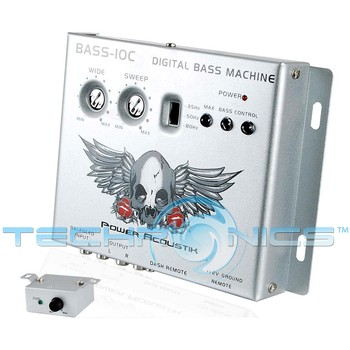Power Acoustik BASS10C Bass Control Parametric