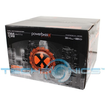 powerbass xld w dual ohm xtreme xl car audio subwoofer