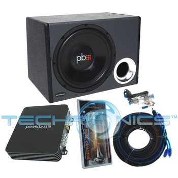 PowerBass PSPP112 600W Complete Car Audio Subwoofer System