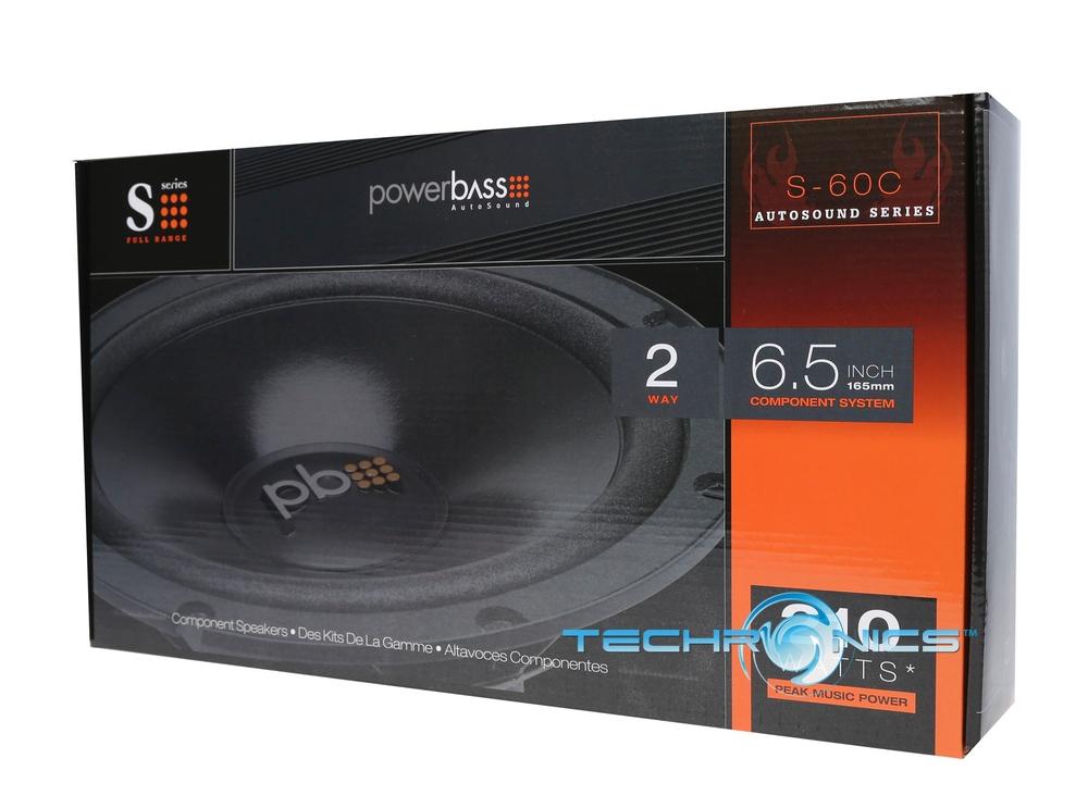 Powerbass S 60c 2yr Wrnty 6 5 Quot 420w Component Car Audio