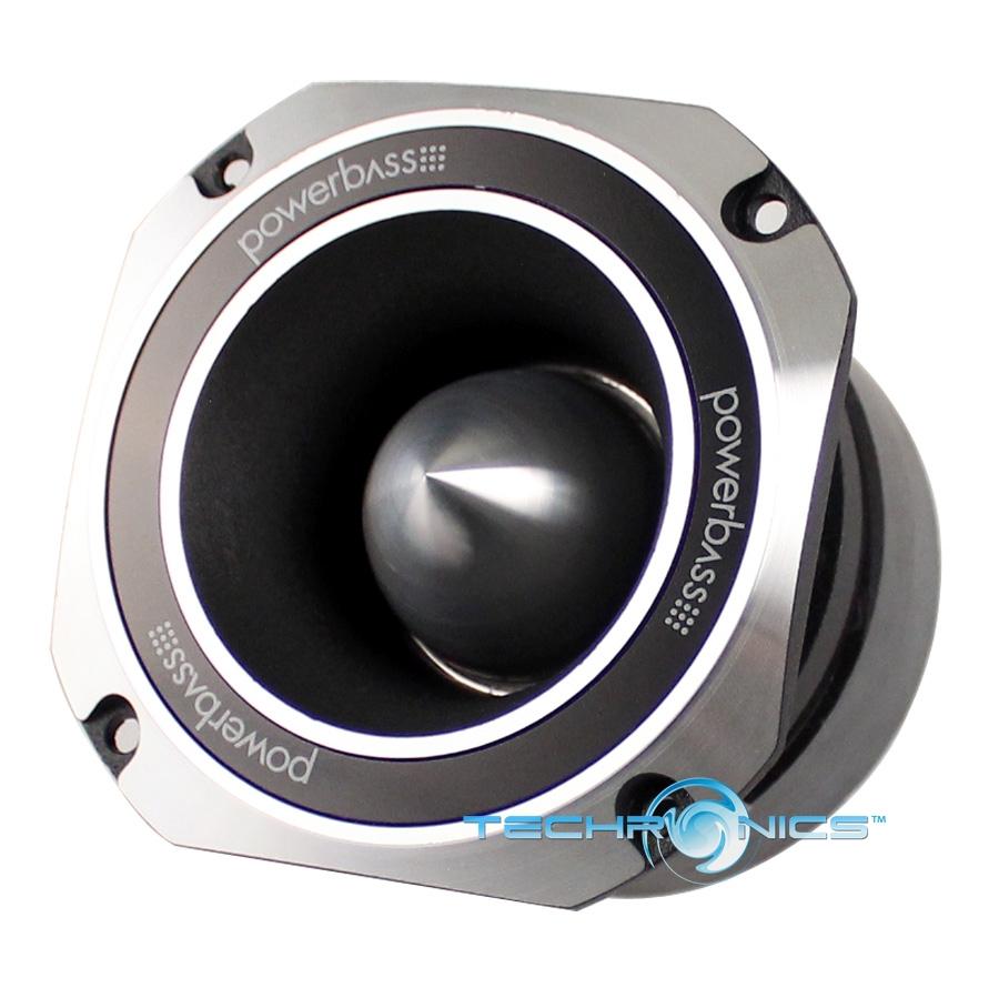 "POWERBASS XTREME XPRO-4H 4"" BULLET DESIGN CAR AUDIO HORN"