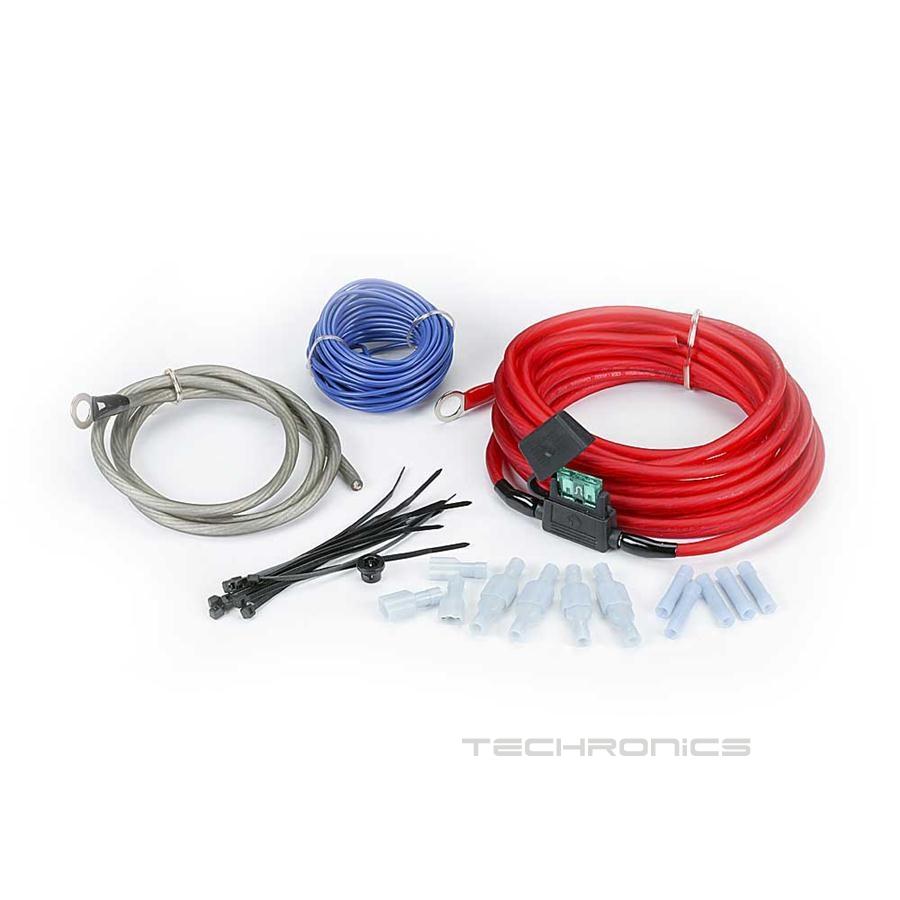 rockford fosgate rfk10 10 awg car audio amplifier amp power wiring kit ebay