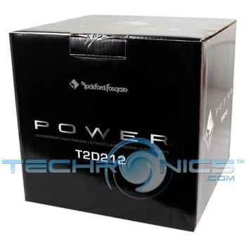 Rockford Fosgate T2d212 12 Quot Dual 2 Ohm T2 Power Series