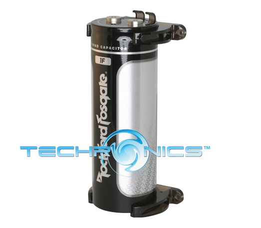 Rockford Fosgate RFC1 Platinum Plated 1 Farad Car Audio Power Capacitor