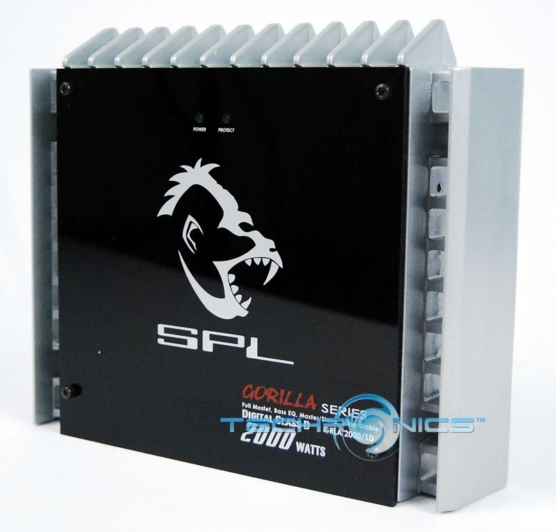 SPL AUDIO GORILLA 2000 WATTS MONO AMP CLASS D AMPLIFIER