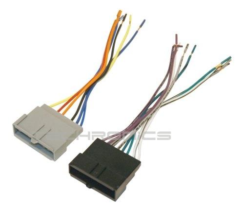 scosche fd02b car radio wiring harness 1986 1997 ford power speaker connector ebay