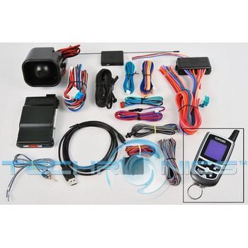 clifford matrix 70 5x 2 way color lcd car alarm remote start system clifford 70 5x rb