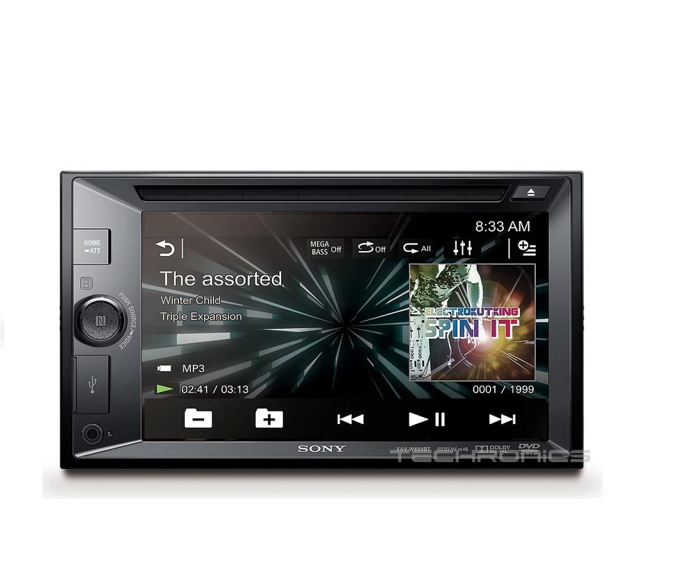 sony xav w650bt 2yr waranty car stereo dvd player. Black Bedroom Furniture Sets. Home Design Ideas